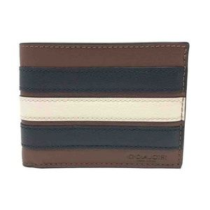 Coach Men's Slim Billfold Leather or PVC Wallet